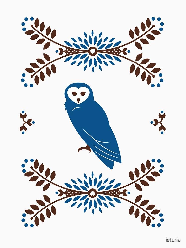 Folk Owl by istaria