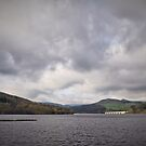 Ladybower Reservoir, Derbyshire, England. by Tigersoul