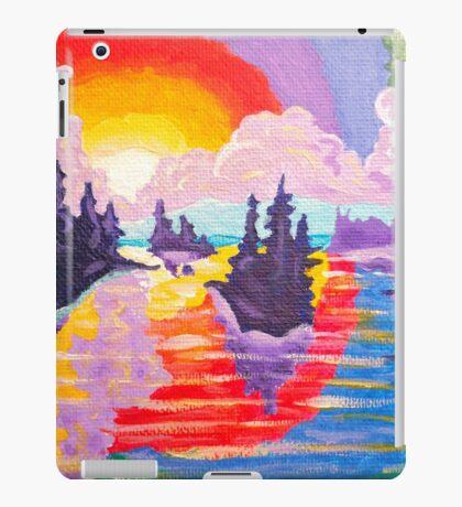 80's Sundown iPad Case/Skin