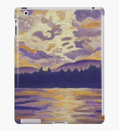 Okanagan Landscape in Purple and Hansa iPad Case/Skin