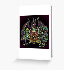 Guardian Forces Greeting Card