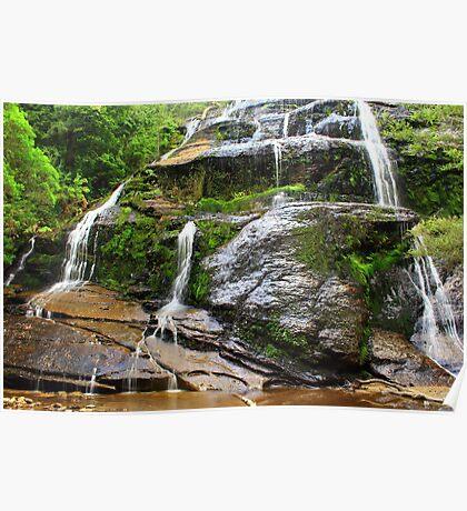 Mc Gowans Falls summer 2012 #2 Poster