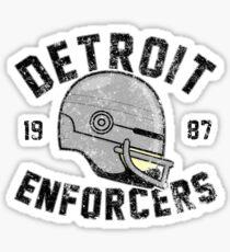 Detroit Enforcers Sticker
