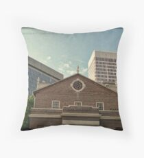 From South Main Street - Downtown Providence Throw Pillow