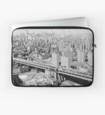 Funda para portátil Manhattan Black and White Photograph