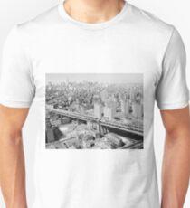 Camiseta unisex Manhattan Black and White Photograph