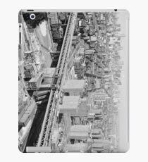 Vinilo o funda para iPad Manhattan Black and White Photograph