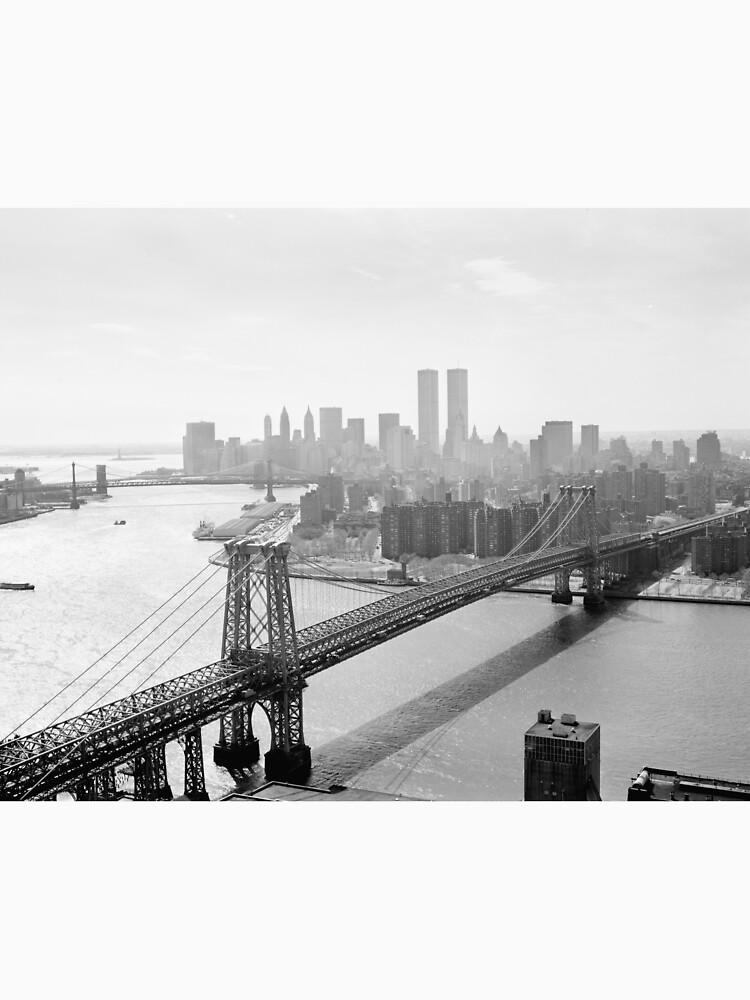 Photograph of NYC and The Williamsburg Bridge de BravuraMedia