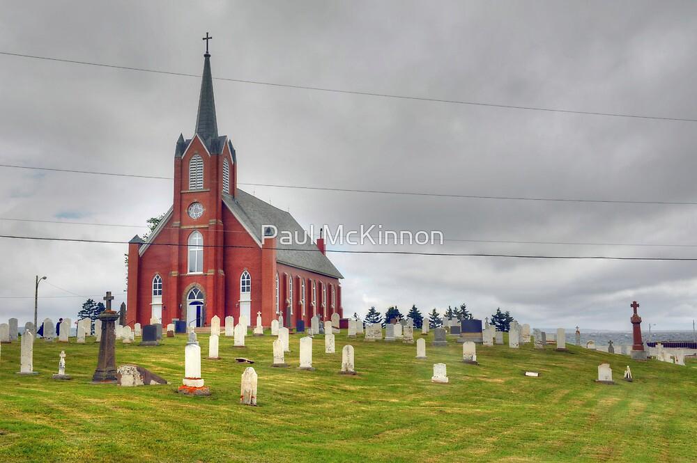 St. Columba in Iona, Cape Breton by Paul McKinnon