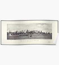 Póster View of New York City and The North River