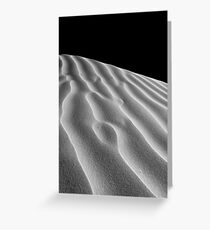 Dune in Black and White Greeting Card