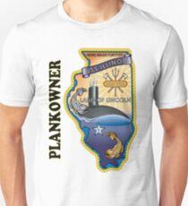 SSN-786 USS Illinois Plank Owner Crest T-Shirt