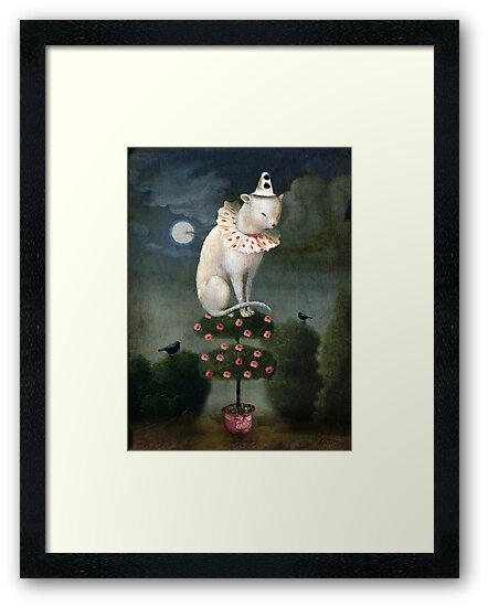Harlekin Cat by Catrin Welz-Stein