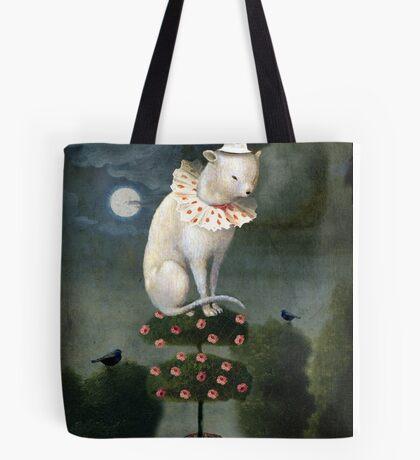 Harlekin Cat Tote Bag