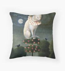 Harlekin Cat Throw Pillow