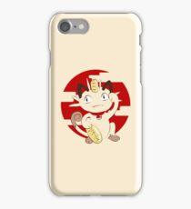 Lucky Meowth. iPhone Case/Skin