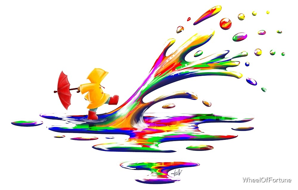 Splashing by WheelOfFortune