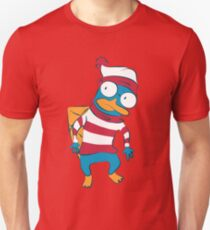 Where's Perry? Unisex T-Shirt