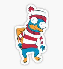Where's Perry? Sticker