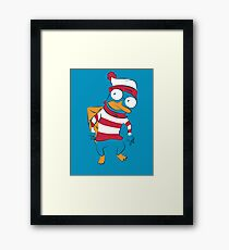 Where's Perry? Framed Print