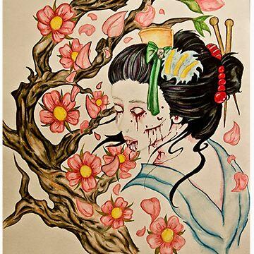 Zombie Geisha 1 by Iroek