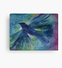 Ode to Robin Canvas Print