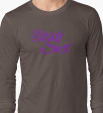 The Purple Shirt of Sex Long Sleeve T-Shirt