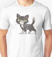 Rough sketch of a cat Unisex T-Shirt
