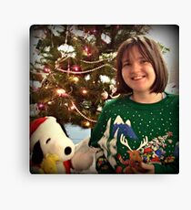 Excited For Christmas  Canvas Print