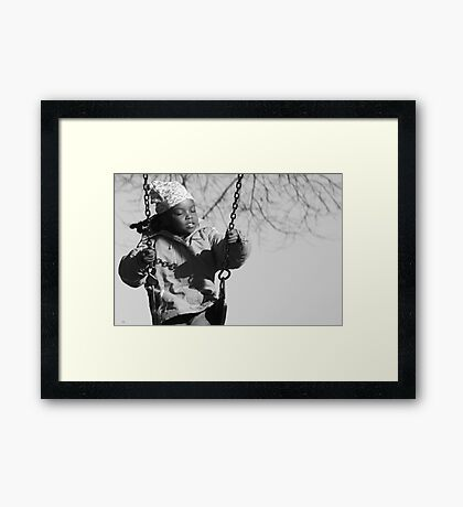 I remember when... Framed Print