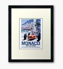 Monaco F1 Classic 1965 Framed Print