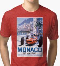 Monaco F1 Classic 1965 Tri-blend T-Shirt