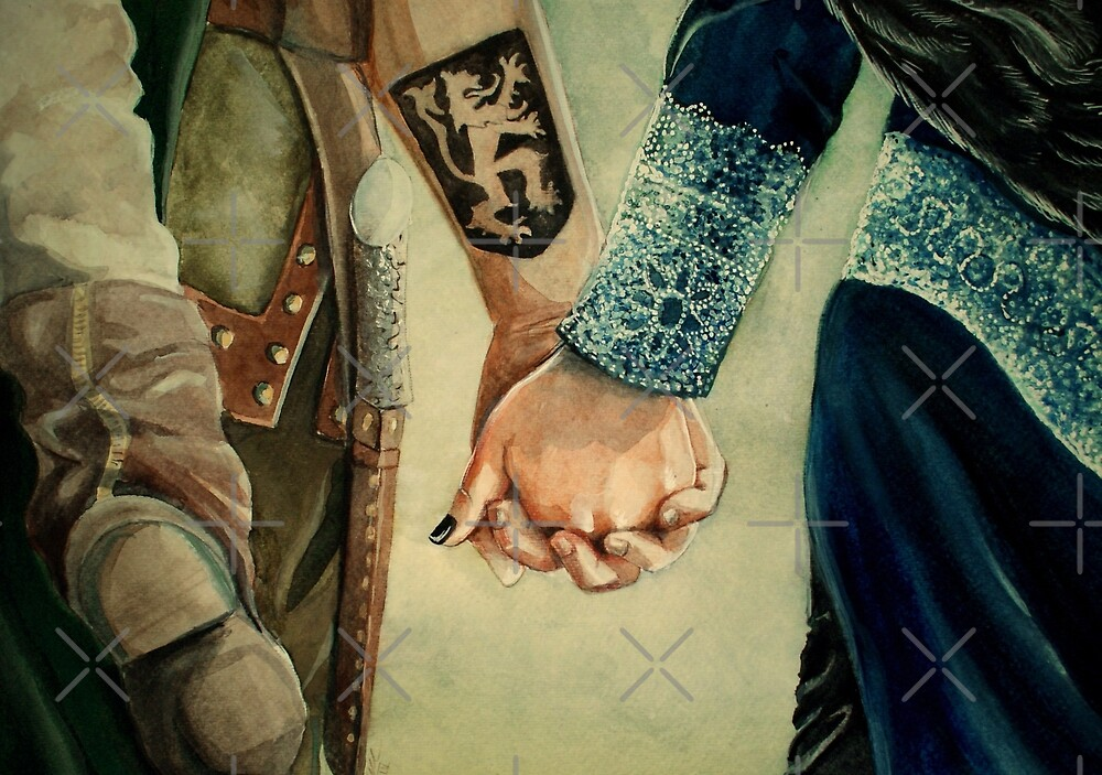 Outlaw Queen by Sarah  Mac Illustration