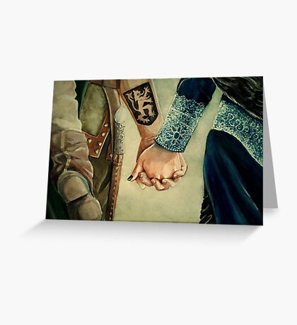 Outlaw Queen Greeting Card