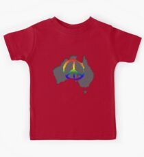 Peace in Australia T-Shirt Kids Clothes