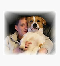 Man's best, best friend Photographic Print