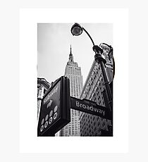 Streets of New York City Photographic Print