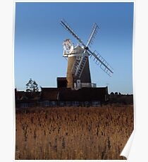 Cley Windmill, Norfolk Poster