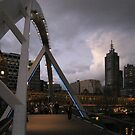 Arching over the Yarra by Martin Lomé