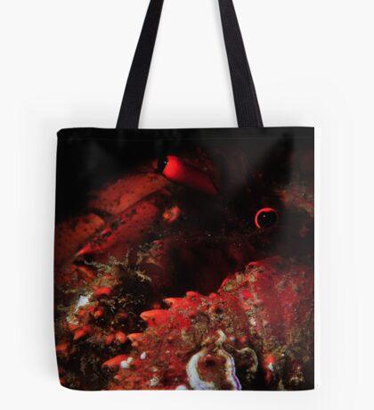 Snooted Hermit Crab Tote Bag