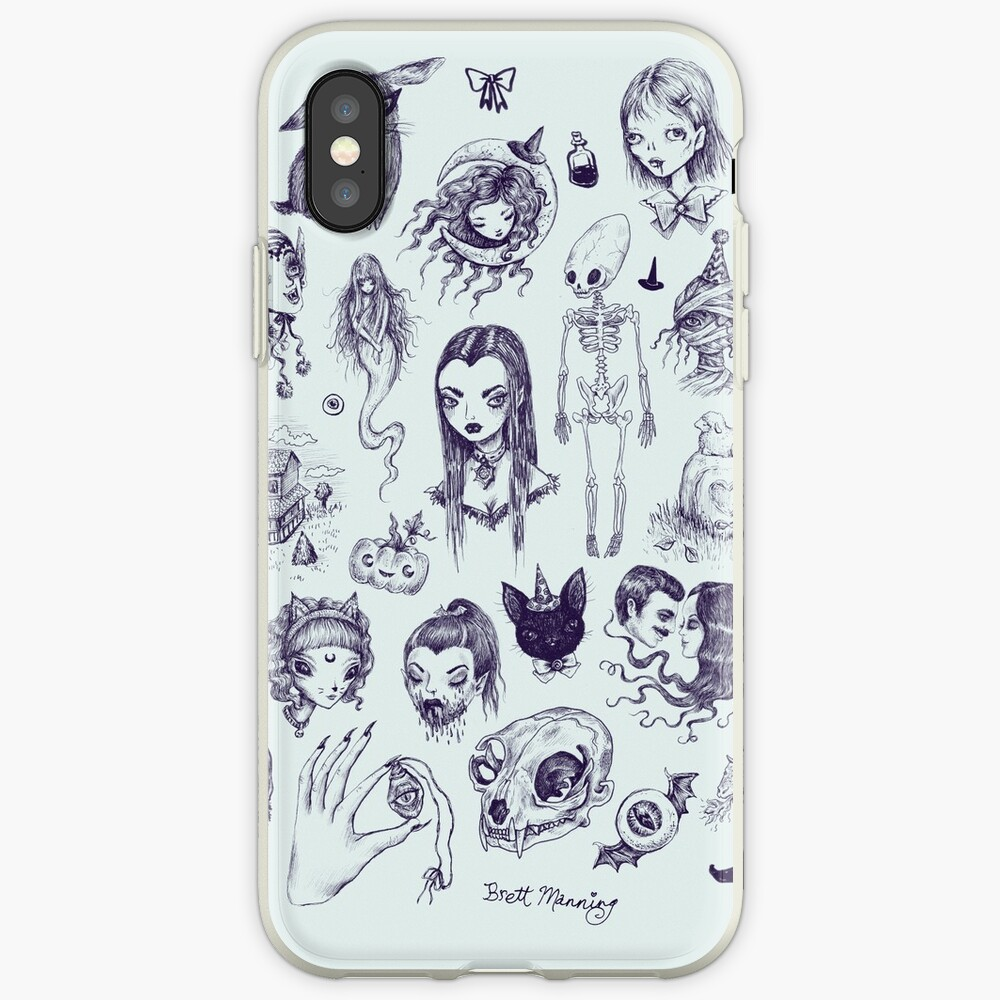 All The Spooky Stuff iPhone Case & Cover