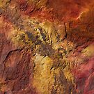 rock patterns iphone case by col hellmuth