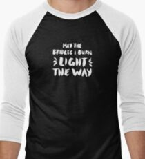 Burned Bridges – Black & White T-Shirt