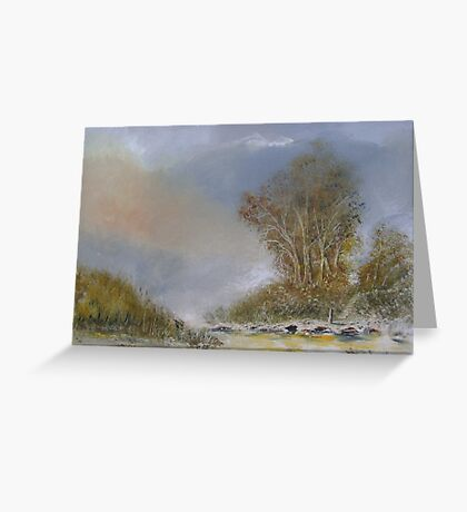 To the River Greeting Card