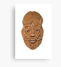 Cardboard Head Canvas Print
