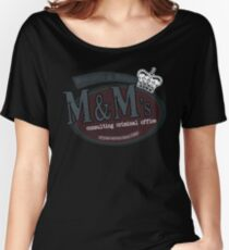 M&M's consulting criminal office Women's Relaxed Fit T-Shirt