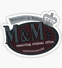 M&M's consulting criminal office Sticker