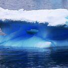 Blue Ice Growler by John Dalkin