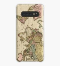 World Map (1812) Case/Skin for Samsung Galaxy