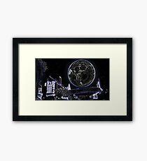 Full Moon On A Windy Night  Framed Print